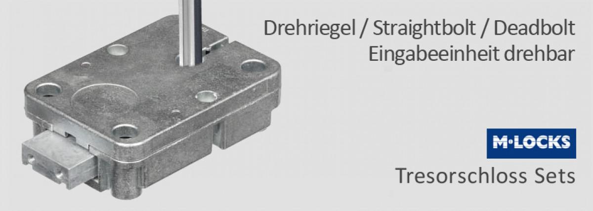 Deadbolt / Drehriegel / Straightbolt Sets