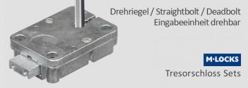 Drehriegel / Straightbolt / Deadbolt / Directdrive Sets