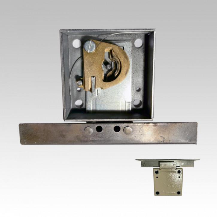 Instandsetzung Antikschloss (60 x 60 / 44,5 mm), Wartung, neue Schliessung, inkl. 2 neuen Schlüsseln