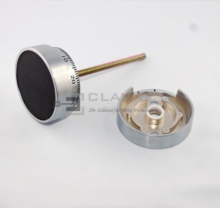 LA GARD 1730 Zahlenknopfgarnitur mit Spindel 102 mm