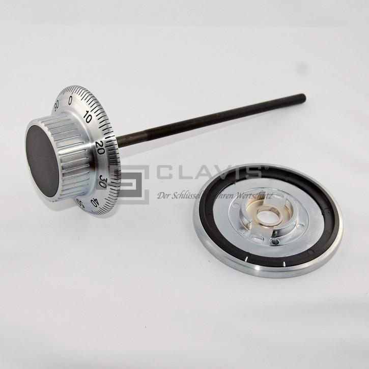 LA GARD 1777 Zahlenknopfgarnitur mit Spindel 192 mm