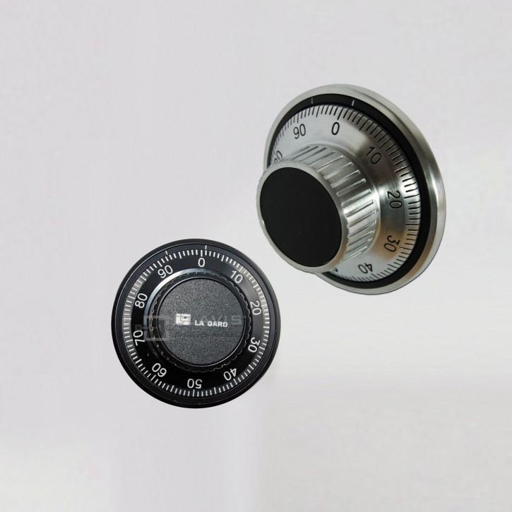 LA GARD Zahlenknopfgarnitur 1777, Drehknopf für La Gard mech. Kombinationsschlösser 3330, 3332, 1985, 3390