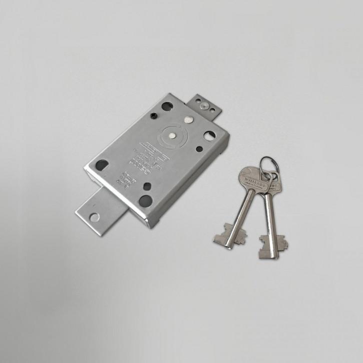 Cawi 2608-02 VdS 1 EN 1300 A Carl Wittkopp - 1 Riegelbohrung zur Ankopplung / 65 mm Schlüssel