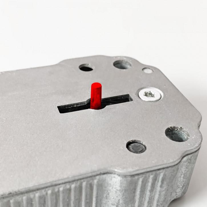 Option Langer Schlüsseldorn für 2648, ca. 6,5 mm vorstehend