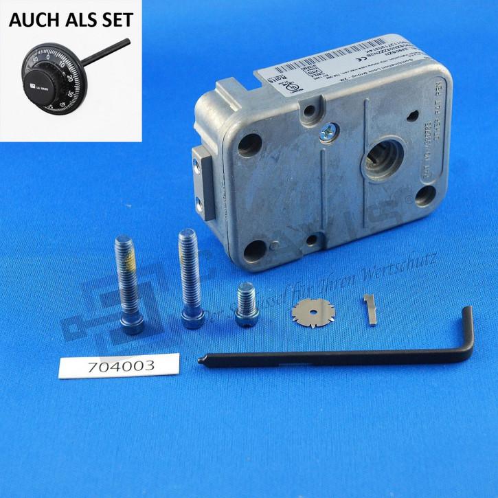 LA GARD 3390 SZN Klasse I EN 1300 A mech. Kombinationsschloss (Ersatz 3330) ZK 3-Scheiben