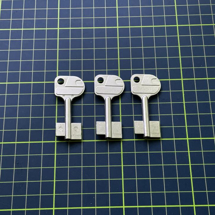 3x orig. Cawi Carl Wittkopp Rohlinge 53 mm für 1387, 1386 SR-Z053-00