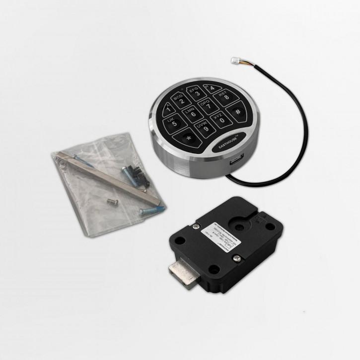 EASTHOUSE Set2 SafeLogic Direct Drive Eingabeeinheit: C10 D-Drive + Schloss: DL-1701 Drehriegel-/ Deadbolt-/ Straightbolt EN 1300 B VdS II 2
