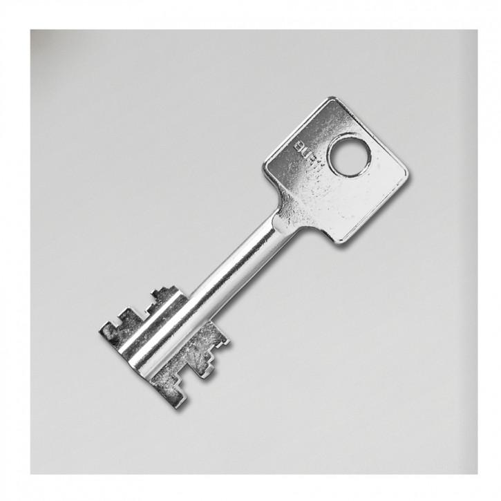 Zusätzlicher Doppelbartschlüssel ca. 70 mm gefertigt auf Alternativrohling