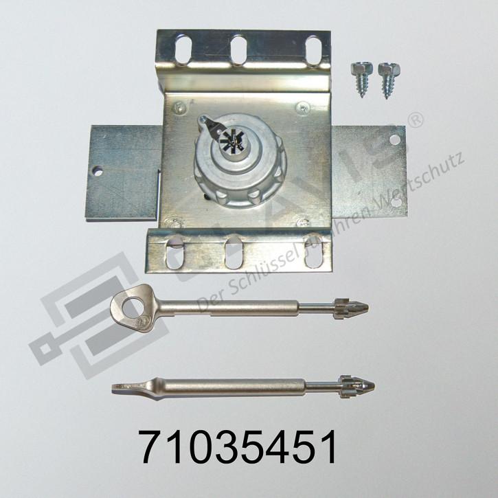 Fichet Bauche 71035451 M3B Tresorschloss für Tresor-Modelle SILVER, GOLD, CARAT, PYRAMIS