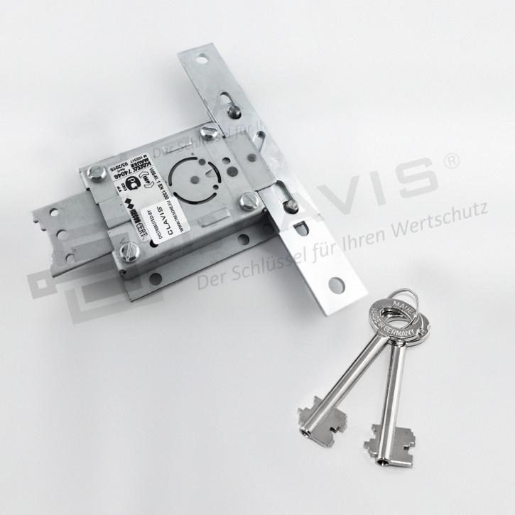 Kaba Mauer 74046 Centurio A Plus mit Schlüssel 70 mm Messing