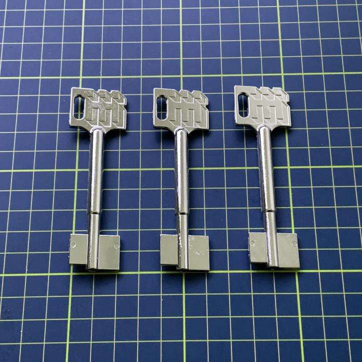 3x orig. Dormakaba Kaba Mauer Rohlinge 90 mm für  71111, 71113, 73042, 73043, 74041, 74043, 74046, 74047