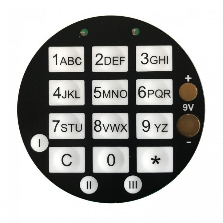 GST Tastatur DFS SB / SCA Eingabeeinheit 30000050 - nicht mehr lieferbar-