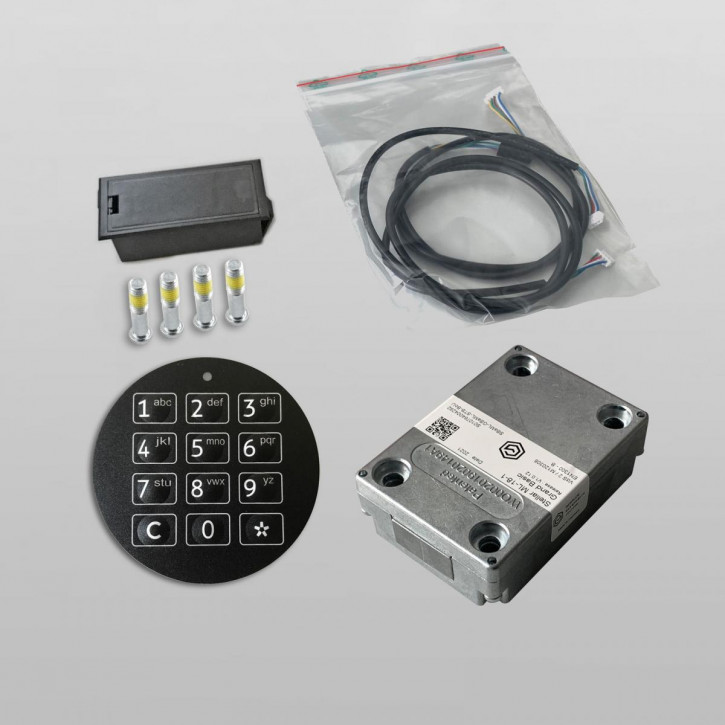 GST STELLAR ML 18-1 - BASIC - Motorriegelschloss Elektronikschloss SET, Nachfolger v. SOLAR, DFS-SB u. DFS-SCA Schlösser / 1 Benutzercode
