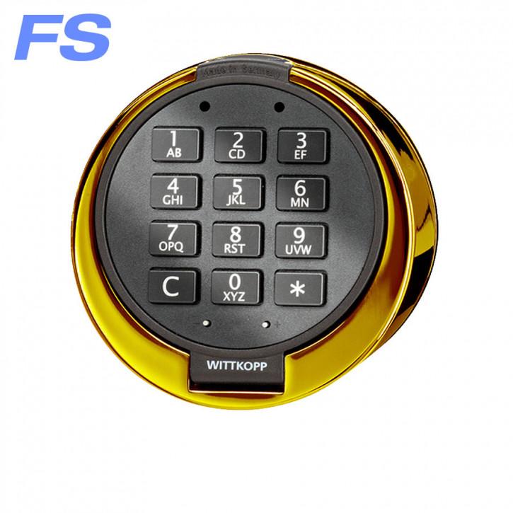 Gator FS vergoldet Eingabeeinheit passend für Systeme 3000/3010/5000/6000 CAWI Carl Wittkopp Tastatur