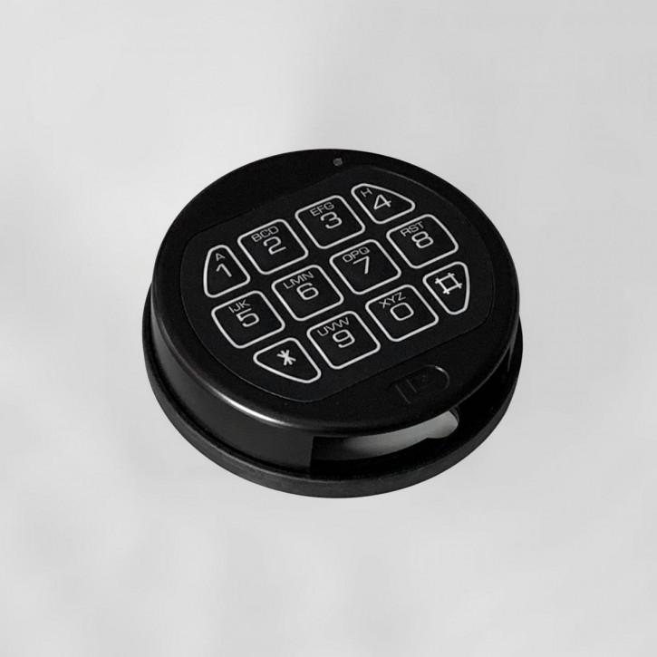 LA GARD 3750 schwarz Eingabeeinheit - feststehend und drehbar - für Swingbolt und Deadbolt Basic (Auslaufmodell)