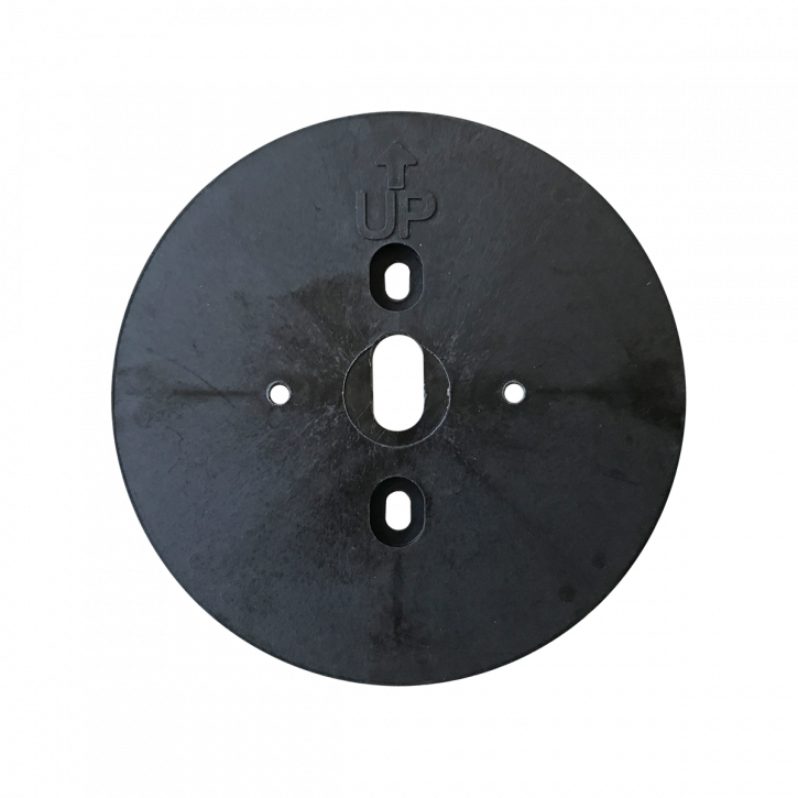 M-Locks Adapter Montageplatte AC7752 als exakte Montagehilfe für Eingabeeinheiten