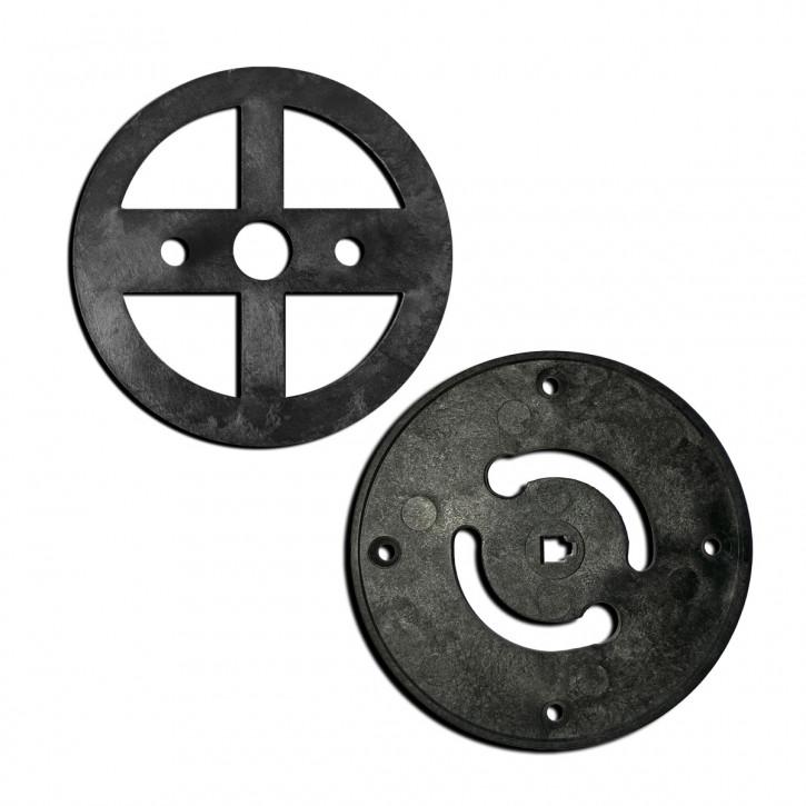 M-Locks drehbare Montageplatte AC9090 für drehbare Eingabeeinheit