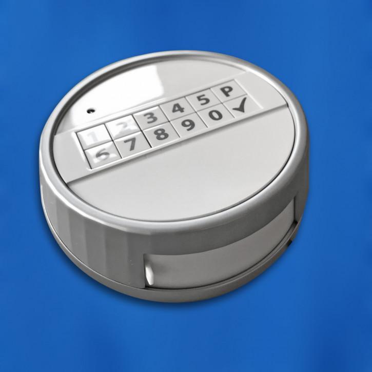 M-Locks Tastatur ECHO weiss Eingabeeinheit, Metall, feststehend und drehbar !! NEUHEIT !!