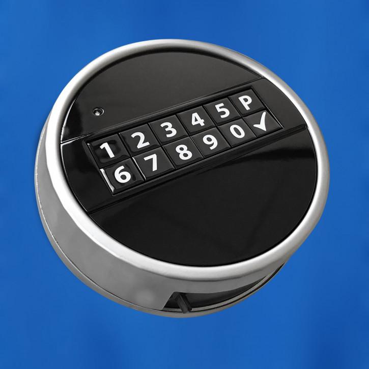 M-Locks Tastatur ECHO schwarz Eingabeeinheit, Metall, feststehend und drehbar !! NEUHEIT !!