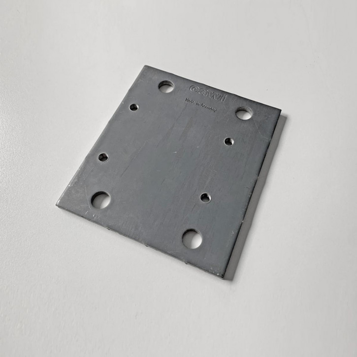 Montageplatte, Adapterplatte mit Standard- Anschraubspunkten für Tresorschlösser