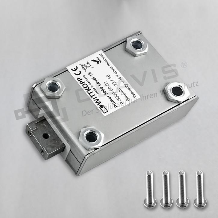 PRIMOR 3000 Level 15 Motorschloss Elektronikschloss EN 1300 B VdS II 2 Cawi Carl Wittkopp