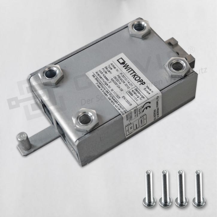 """PRIMOR 3011 Level 5 Motorschloss mit NOTSCHLOSS-ANBINDUNG """"lang"""" Elektronikschloss EN 1300 B VdS II 2 Cawi Carl Wittkopp"""