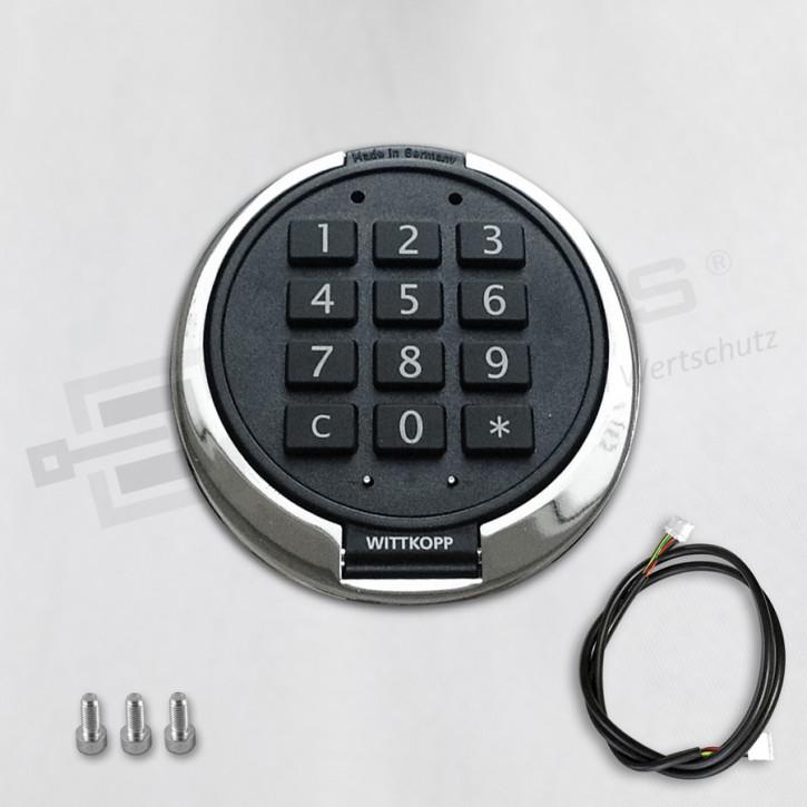 PRIMOR Eingabeeinheit FS, glanz-verchromt, Tastatur für PRIMOR 1000 / 3000