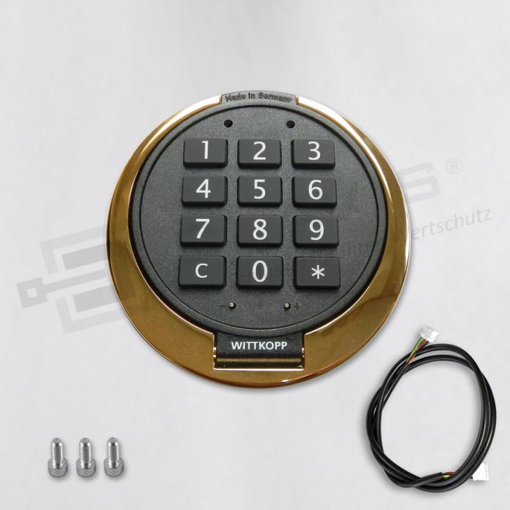 PRIMOR Eingabeeinheit FS, vergoldet, Tastatur für PRIMOR 1000 / 3000