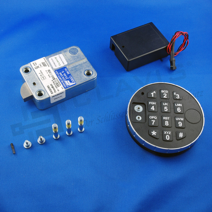 M-Locks Set6 Elektronikschloss Rotobolt Swingbolt Ersatz z.B. La Gard 39e Tresorschloss EM2050 + DE2010 + ST6070