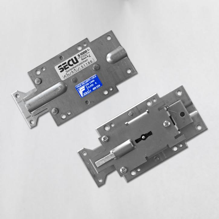 SECU S1000 rechts und links - Serie S Sicherheitsschloss Doppelbartschloss Tresorschloss z.B. diverse Burgwächter