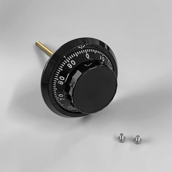 S&G Dialring Zahlenknopfgarnitur mit Spindel ca. 135 mm