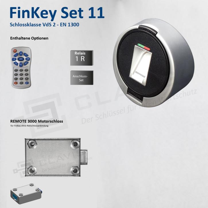 Carl Wittkopp FinKey Set 11 Fingerprint biometrisches Tresorschloss Fingerabdruck, Cawi