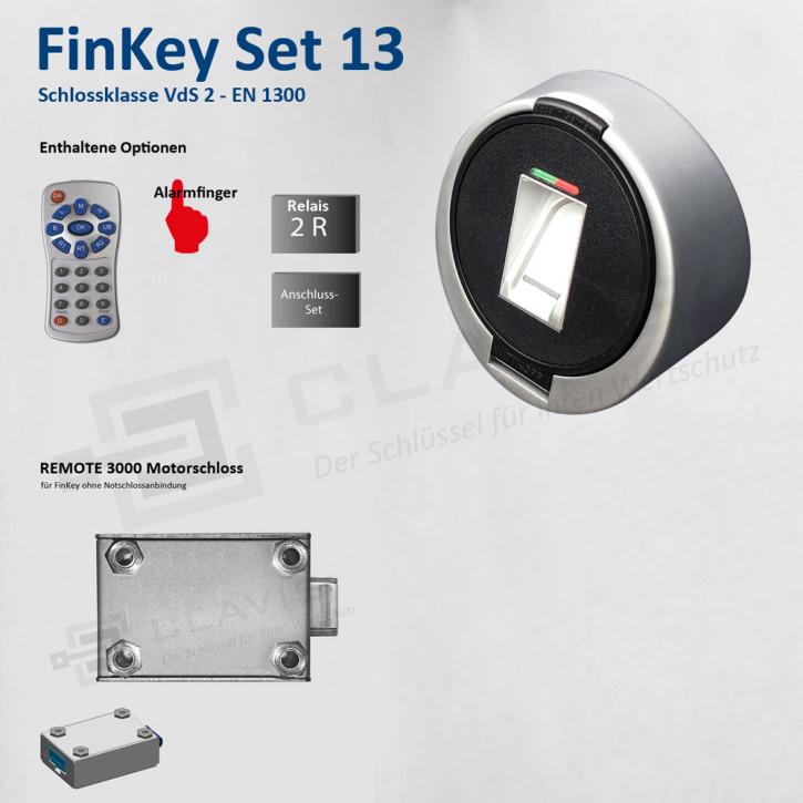 Carl Wittkopp FinKey Set 13 Fingerprint biometrisches Tresorschloss Fingerabdruck, Cawi
