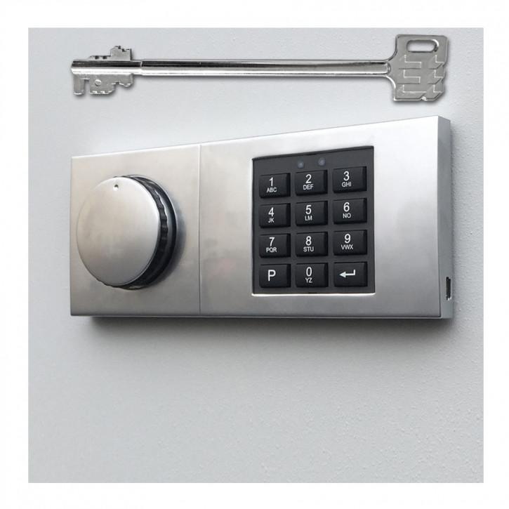 Kaba Mauer Combi B 30 82132/3xxx mit Notschlüssel b30 = Ersatz für Code Combi B 82132 dormakaba