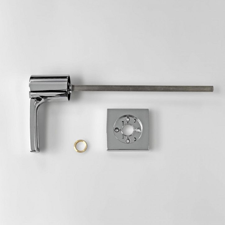 dormakaba Griff VESTA 90050 - Hängegriff passend zu Combi B30 82132 Kaba Mauer B 30, chrom / 11mm Vierkant 260mm lang