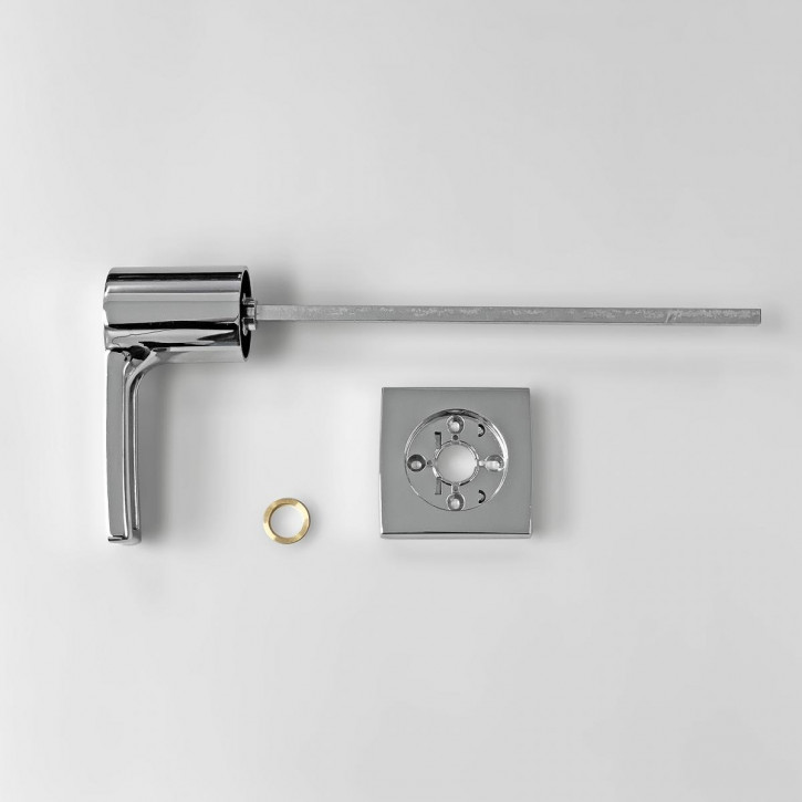 dormakaba Griff VESTA 90050 - Hängegriff passend zu Combi B30 82132 Kaba Mauer B 30, chrom / 8mm Vierkant 260mm lang