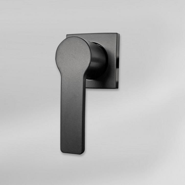 dormakaba Griff VESTA 90050 - Hängegriff passend zu Combi B30 82132 Kaba Mauer B 30, schwarz beschichtet