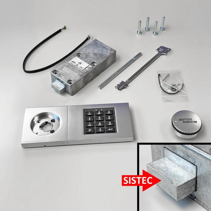 Kaba Mauer Combi B 30 für SISTEC 82132/3xxx mit Notschlüssel b30 = Ersatz für Code Combi B 82132 dormakaba