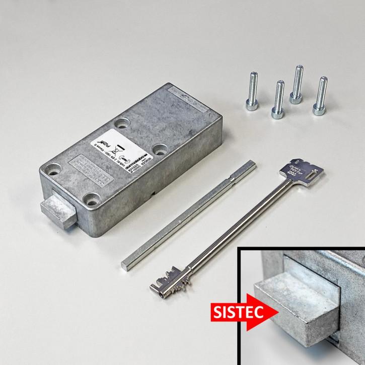Kaba Mauer Combi B 30 82132/3xxx Schloss einzeln für SISTEC mit Notschlüssel b30 = Ersatz für Code Combi B 82132 dormakaba