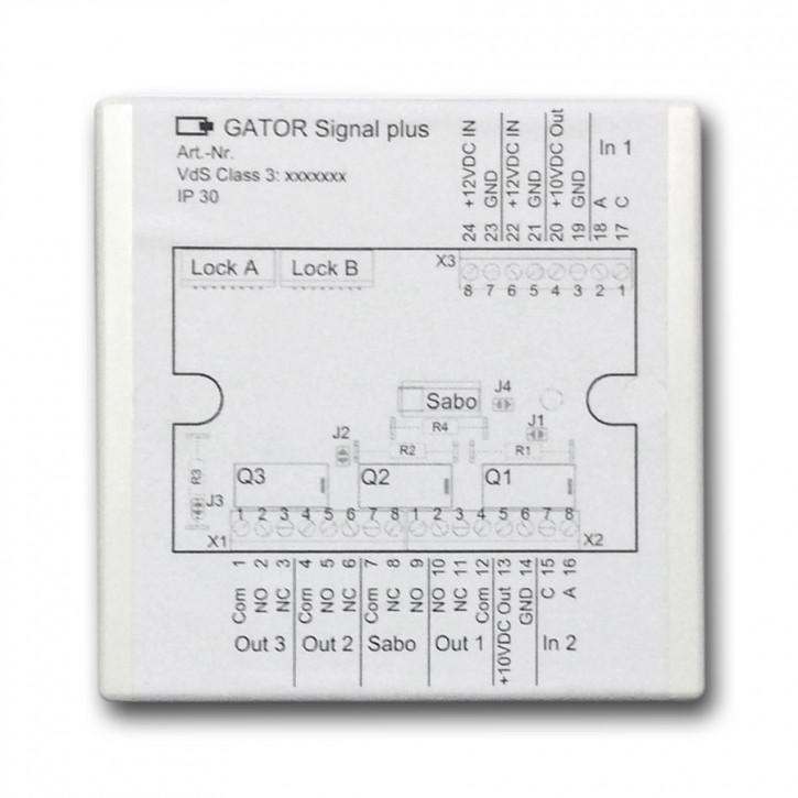 GatorSignal Plus Anschlussbox für Serie 2000/ 3000/ 3010/ 5000/ 6000/ 8000/ 9000 CAWI Carl Wittkopp
