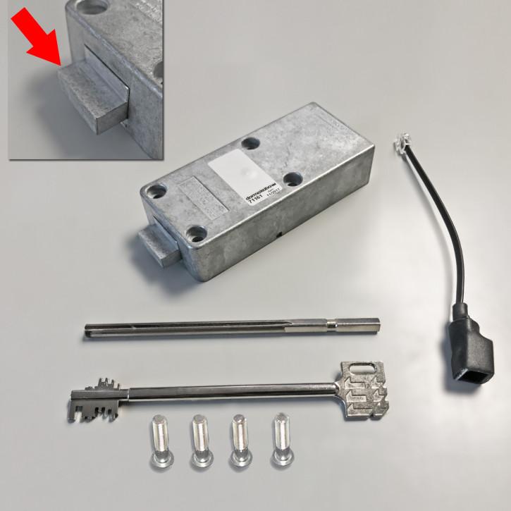 Mauer Code Combi B 82132/29XX VDS Klasse II (2) B Schlosseinheit einzeln - Sonder, Riegel für SISTEC