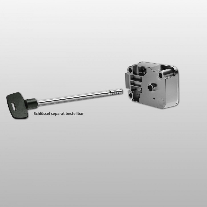 LA GARD 2270 umstellbares mechanisches Schlüsselschloss 4-Scheiben Tresorschloss mit rundem Bart