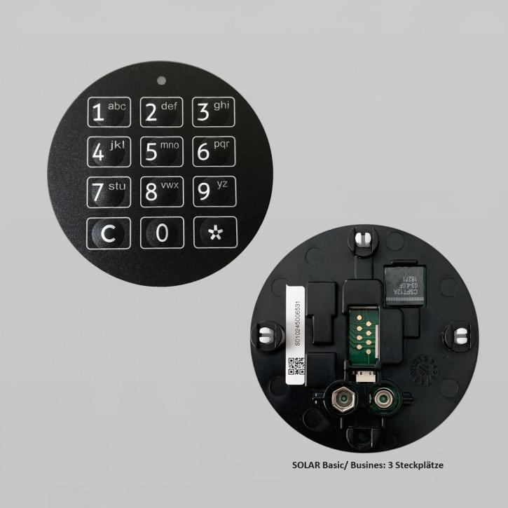 """GST SOLAR BASIC, BUSINESS Tastatur, Eingabeeinheit. Tastatureinlage NICHT FÜR """"DFS"""" geeignet!"""