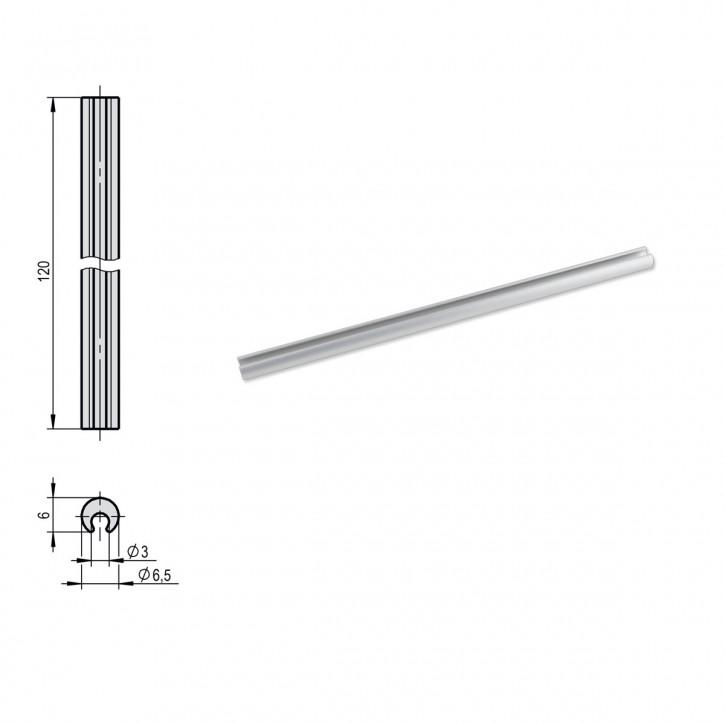 Verbindungs- Welle 120 mm lang für STUV Elektronikschloss TULOX 100 / 200