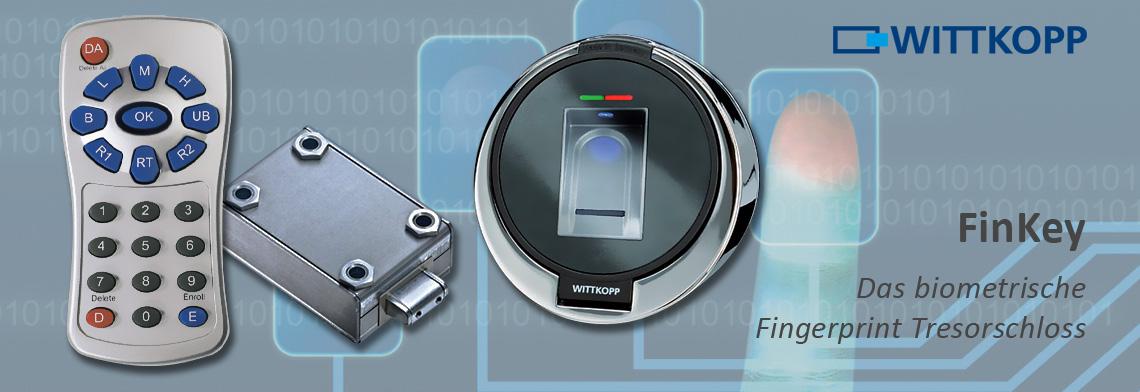 Fingerprint Tresorschlösser, biometrisch