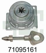 Fichet Bauche 71095161 M3B Tresorschloss für Deposittresor MILLIUM DEPOSIT EXPRESS, ATLANTIK