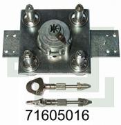 Fichet Bauche 71605016 M3B Tresorschloss für Tresor-Modelle SILVER, GOLD, CARAT, PYRAMIS