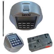 SECU SELO-BF2 biometrisches Elektronikschloss Fingerprint Tresorschloss Klasse 2/ B EN 1300 Komplettset