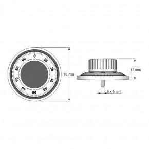 M-Locks Komplettset2 ML6740 + CS1780 mechanisches Zahlenkombinationsschloss ZK