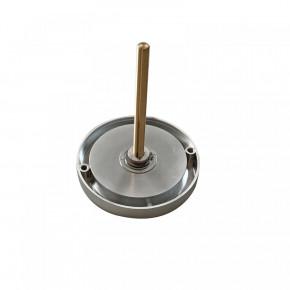 Zahlenknopfgarnitur mit Spindel 100 mm, eingelassene oder aufgesetzte Montage
